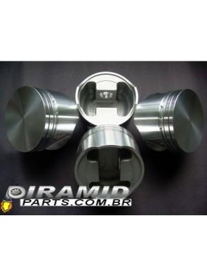 Jogo de Pistao AFP Forjado Motor 2.0 AP 83.50mm Aspirado